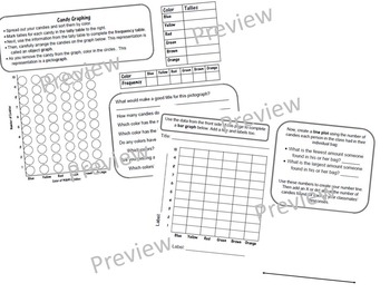 Candy Graphing Worksheet