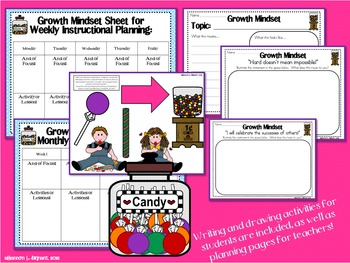 Candy Growth Mindset Posters (Having a Growth Mindset Is Sweet!)