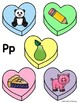 Candy Heart Beginning Sounds Sort