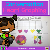 Candy Heart Color Graph (Math Center)