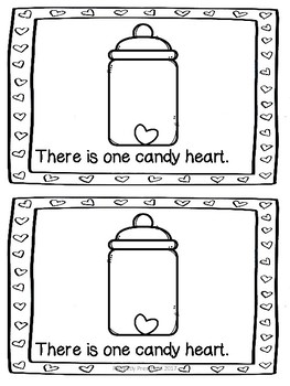 Candy Heart Counting Book