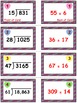 Candy Heart Dart Game Cards (Division with 2-Digit Divisors) Sets 4-5-6