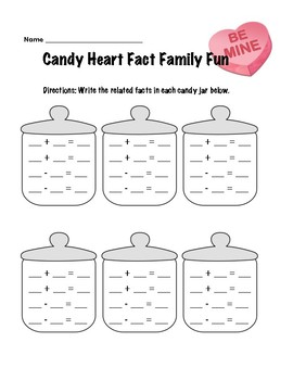 Candy Jar Fact Family Fun