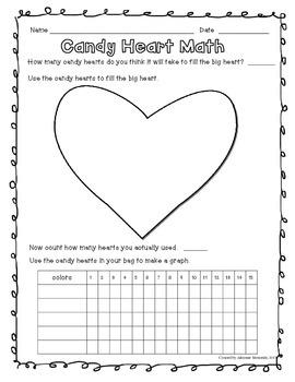 {Freebie!} Candy Heart Graph