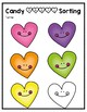 Candy Heart Graph and Sort