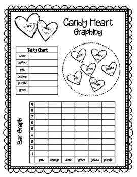 Candy Heart Graphing Freebie!