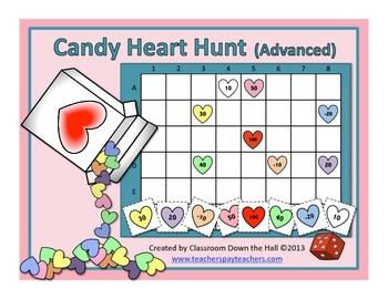 Candy Heart Hunt (Advanced)
