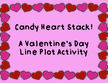 Candy Heart Line Plot Game