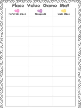 Candy Heart: Math Activities, Printables, & Games