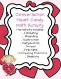 Candy Heart Math Activity
