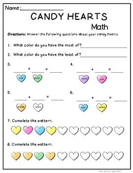 Candy Heart Math Fun