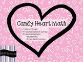 Candy Heart Math: Graphing and Fractions FREEBIE