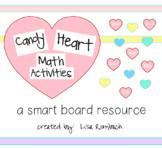Candy Heart Math Smart Board Lesson, Valentine's Day, Primary Grades