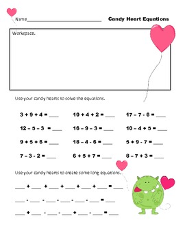 Candy Heart Math by Lisa Buchholz
