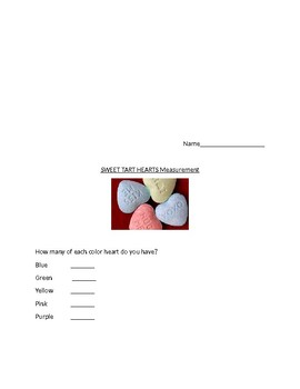 Candy Heart Measurement and Sorting