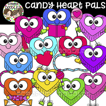 Candy Heart Pals
