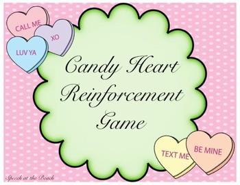 Candy Heart Reinforcement Game