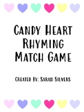 Candy Heart Rhyming Match Game