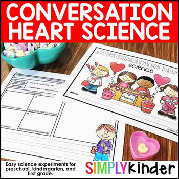 Conversation Hearts Science - Valentine's Day STEM