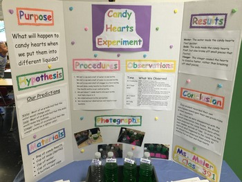 Candy Hearts Science Experiment