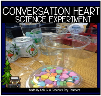 Candy Heart Valentines Science Experiment For Primary Grades