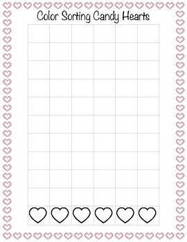 Candy Heart Sorting Graph