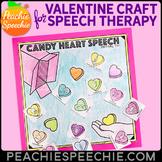 Candy Heart Speech Craft {No Prep!}