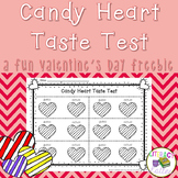 Candy Heart Taste Test {a Valentine's Day Freebie}