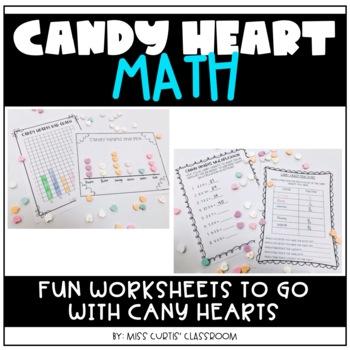Candy Heart Valentine's Day Math