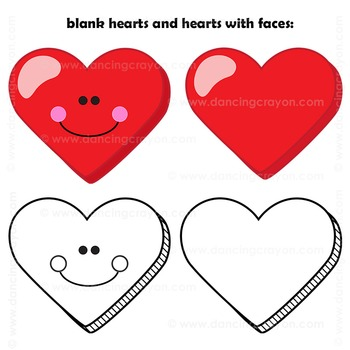 Candy Hearts Clip Art   Conversation Hearts