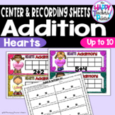 Candy Hearts Addition up to 10 ~Perfect for Mini-Erasers!~