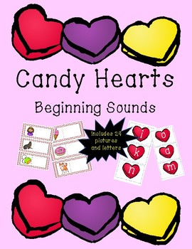 Beginning Sounds- Candy Hearts