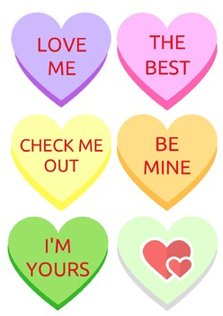 Candy Hearts Book Tags