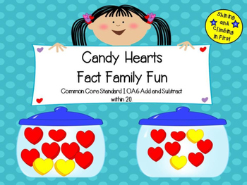 Fact Family Fun with Candy Hearts