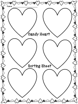 Candy Hearts Graphing Fun! Freebie