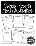 Candy Hearts Math Activities