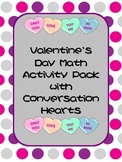 Candy Hearts Math Activity Pack
