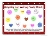 Valentine Candy Hearts Math and Writing Activities