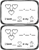 February Emergent Reader & Math Activity {Candy Hearts & Number Bonds}