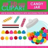 Candy Jar Clip Art (Digital Use Ok!)