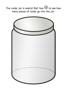 Candy Jar Counting Mat