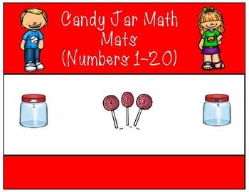 Candy Jar Mats- Math Centers