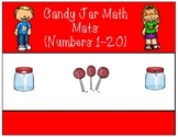 Candy Jar Mats- Math Centers