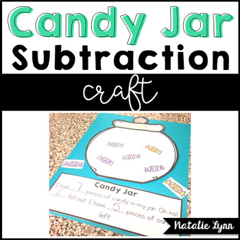 Candy Jar Subtraction Craft