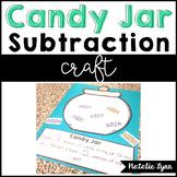 Candy Jar Subtraction Craft