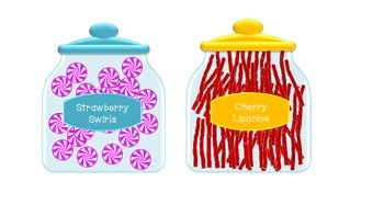 Candy Jars for Dramatic Play
