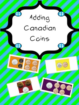 Candy Land - Adding Canadian Coins - Editable