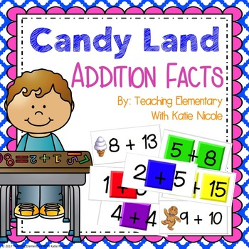 Board Game: Addition Facts