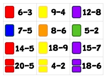 Candy Shop Addition & Subtraction Game