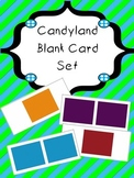Candy Land Blank Card Set - for new version of game